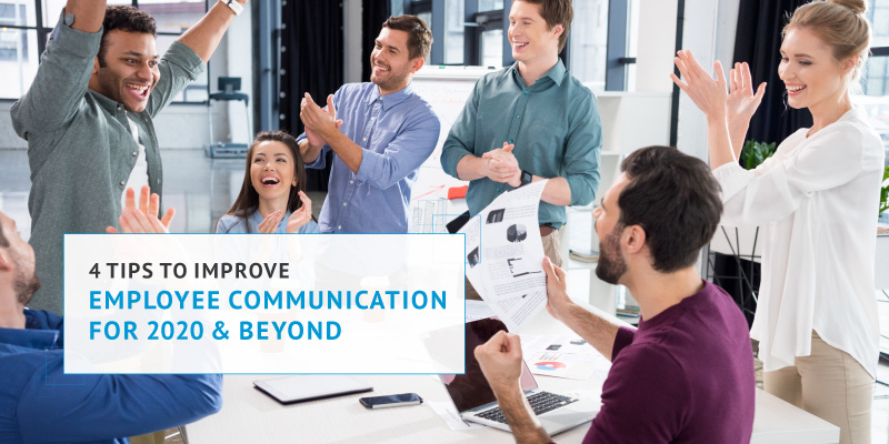 Improve employee communication for your nonprofit in 2021.