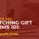 Matching Gift Forms for Nonprofits