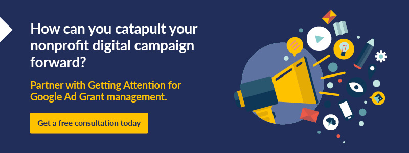 Catapult your nonprofit digital campaigns with Getting Attention.