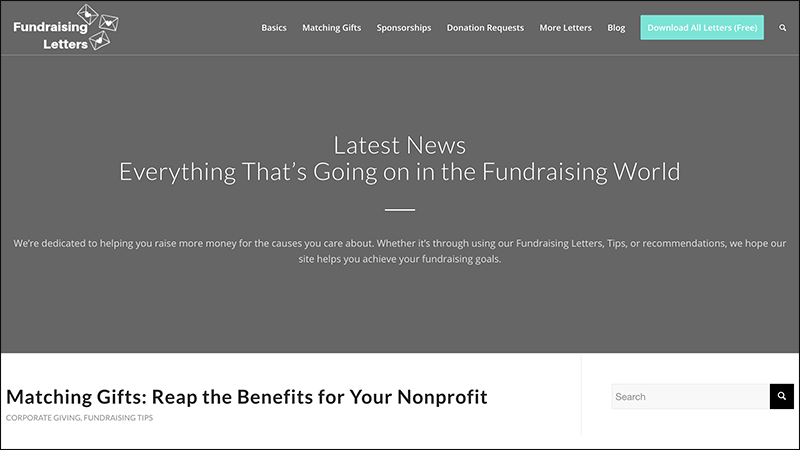 Check out Fundraising Letter's nonprofit marketing blog.