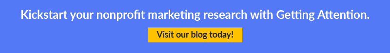 Kickstart your nonprofit marketing research with Getting Attention!